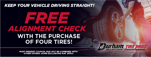FREE Alignment Check w/ Purchase of Four Tires