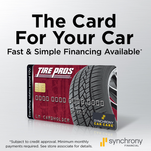 Tire Pros Financing available at Durham Tire & Auto Center Tire Pros!